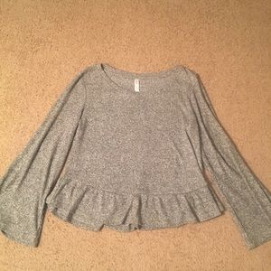 Gilligan & Omally Woman Sleepwear Sweater M Gray